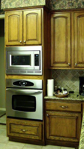 How to eco renovate your kitchen cabinets on a budget - Payless kitchen cabinets ...
