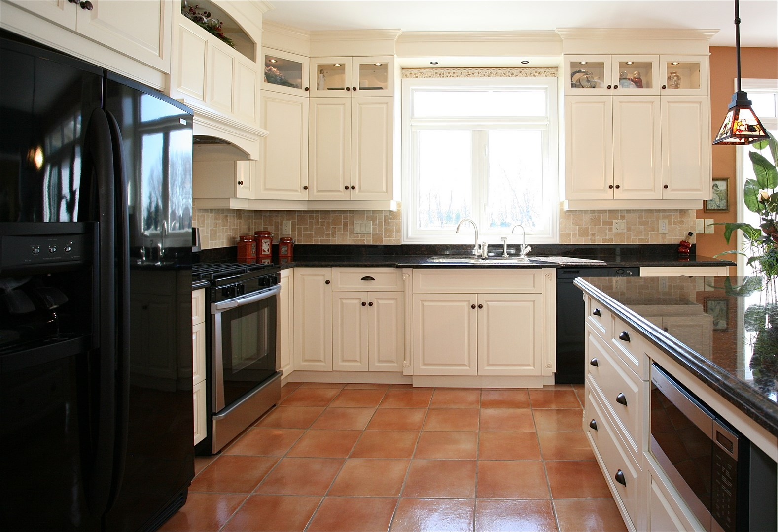 Take Advantage Of 9 Ceiling With Kitchen Cabinets That